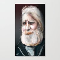 The Sad Captain Canvas Print