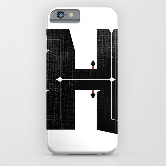 The Letter H iPhone & iPod Case