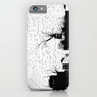 iPhone & iPod Case featuring NYC splatterscape by Trevor Bittinger