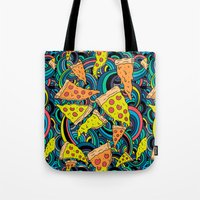 Pizza Meditation Tote Bag