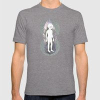 Aswang Mens Fitted Tee Tri-Grey SMALL