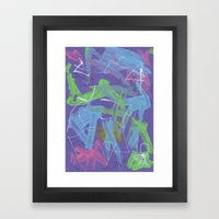 Abstract 162 Framed Art Print