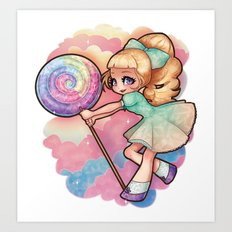 Candy Candy Art Print