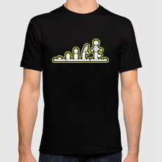 Lego Evolution  Mens Fitted Tee Black SMALL