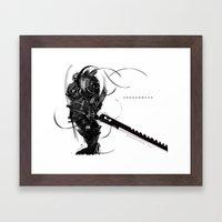 Mecha Shogun Framed Art Print