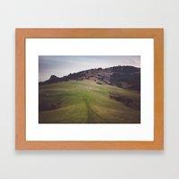 Pieniny Mountains Framed Art Print