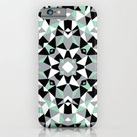 Abstract Kaleidoscope Mint iPhone 6 Slim Case