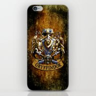 Gryffindor And Ravenclaw… iPhone & iPod Skin