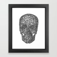 TranSkull Framed Art Print
