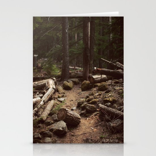 Forest Trail Stationery Card