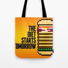 Diet Burger Tote Bag