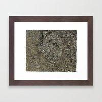 Geothermal Framed Art Print