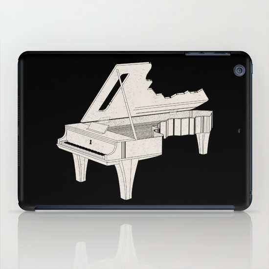 Music Is The Key. iPad Case