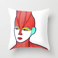 Aura (previous Age) Throw Pillow