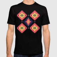 NavNa Mens Fitted Tee Black SMALL