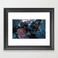 Gluttony Framed Art Print