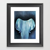 Invisible Pachyderm Framed Art Print