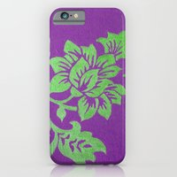 floral pattern iPhone & iPod Cases featuring Floral Pattern by Marjolein