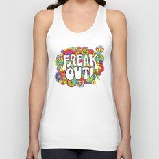 Freak Out! Unisex Tank Top