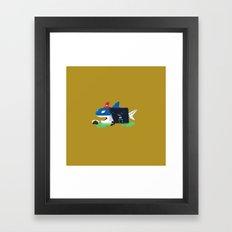 The Ship Captain Framed Art Print
