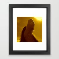This Is The Birthday Of … Framed Art Print