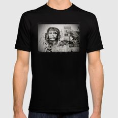 CHE SMALL Black Mens Fitted Tee