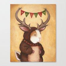 Ferdie the Reindeer Peeg Canvas Print