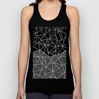 Ab Half And Half Electric Unisex Tank Top