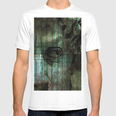 DEUS SMALL White Mens Fitted Tee