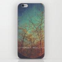 Choosing Between Realiti… iPhone & iPod Skin
