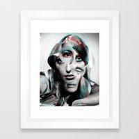 Sharon Mix 8 Framed Art Print