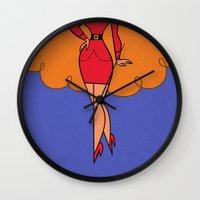 Ms. Sara  Wall Clock