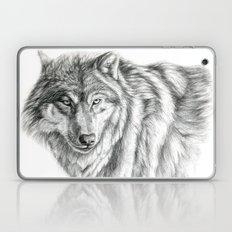 Wolf portrait G031 Laptop & iPad Skin