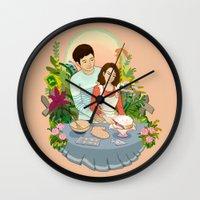 We Make a Cute Couple Wall Clock