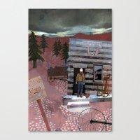 Molson Canvas Print