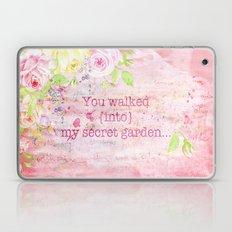 You walked into my secret garden  Laptop & iPad Skin