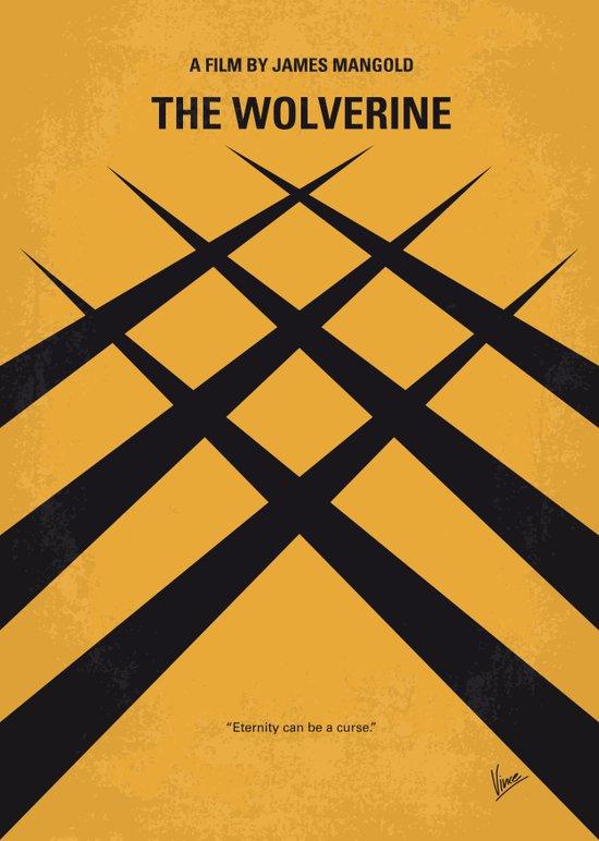 No222 My Wolverin minimal movie poster Art Print