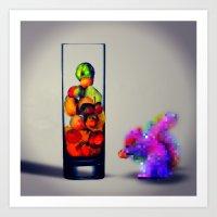 MixMotion: Squirrel Sour… Art Print