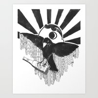 Boboh Baltimore Art Print