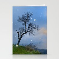 Snowstorm At The Alhambr… Stationery Cards