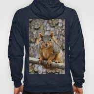 Faux Fox Squirrel Hoody