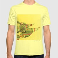 Chameleon Mens Fitted Tee Lemon SMALL