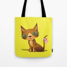 The Great Gold Meow Tote Bag