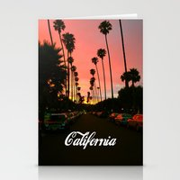 california Stationery Cards featuring California by Tumblr Fashion