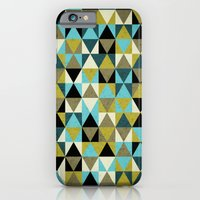 iPhone & iPod Case featuring Triangles I by Lulla