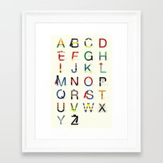 ABC SH Framed Art Print