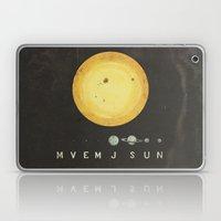 Planetary Arrangement Laptop & iPad Skin