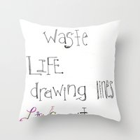 Live Throw Pillow