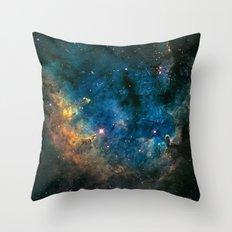 Boomerang Nebula Throw Pillow