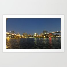 Brooklyn Lights Art Print